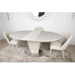 Стол обеденный Nicolas GEORGIA 120/150 капучино