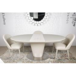 Стол обеденный Nicolas GEORGIA 140/180 капучино