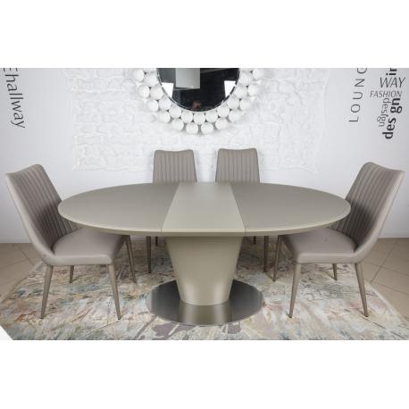 Стол обеденный Nicolas GEORGIA 140/180 мокко