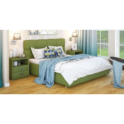 Кровать МИЛЕЯ (с нишей и подъемным механизмом)