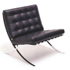 Кресло Grupo SDM Барселона (черная экокожа)