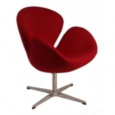 Кресло барное Grupo SDM СВ (ткань красная)