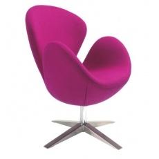Кресло барное Grupo SDM СВ (ткань розовая)