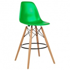 Стул барный Grupo SDM Тауэр Вуд (цвет зеленый)
