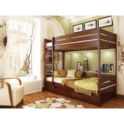 Детская двухъярусная кровать Эстелла Дуэт щит