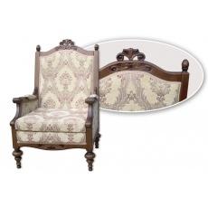 Кресло Лорд с резьбой (под заказ)