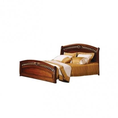Кровать CF Dominica (темный орех) 9901