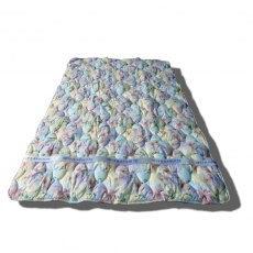 Одеяло Традиция Ночное искушение 300 желто-голубое